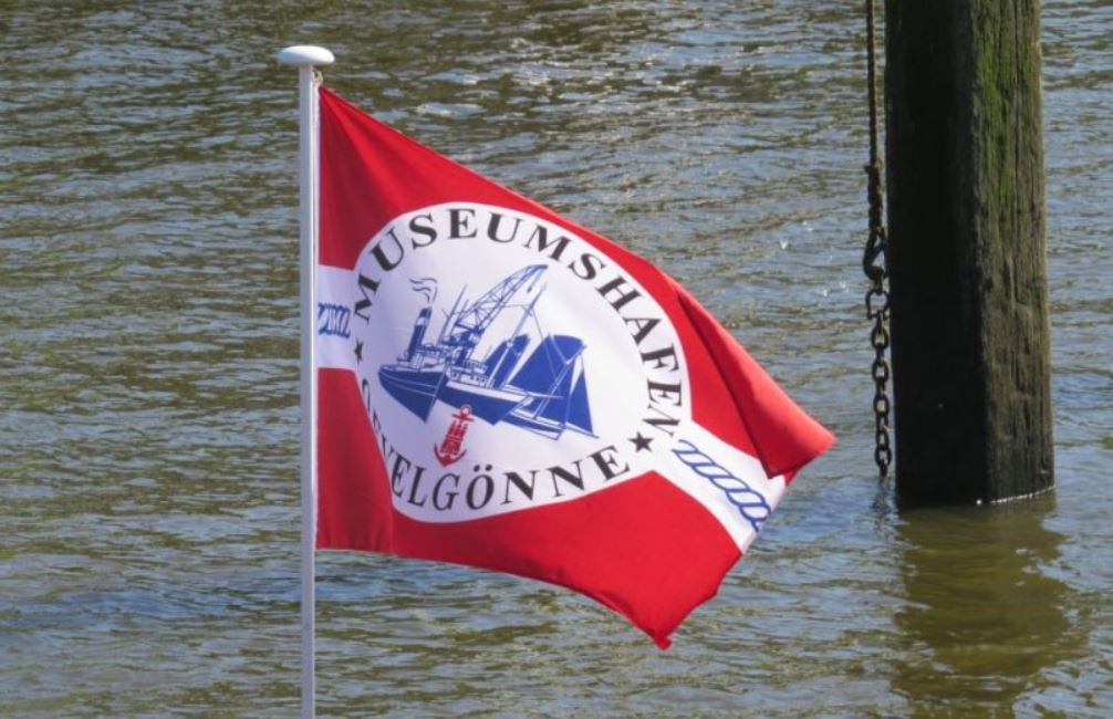 Vereinsflagge Museumshafen