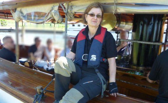 Schatzmeisterin Heidi Freese