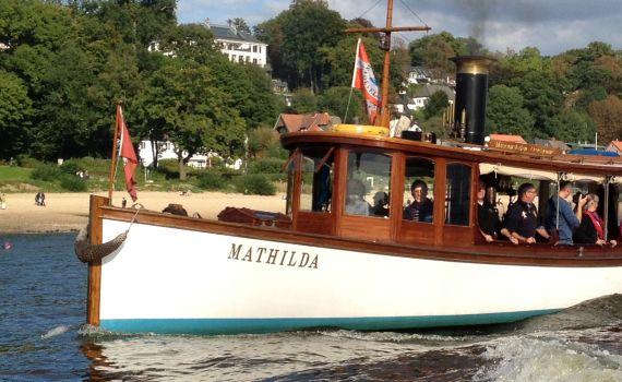 MATHILDA auf der Traditionsschiffparade, 2013