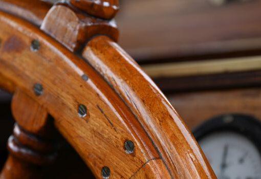 TIGER STEUERRAD aus Holz