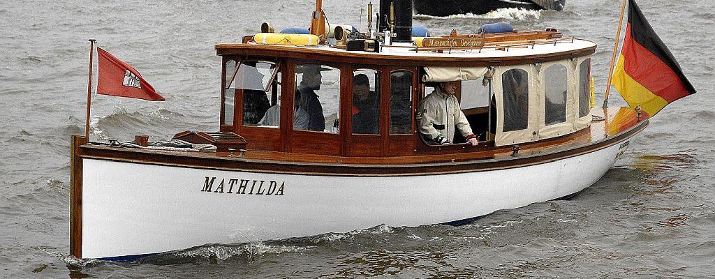 Dampfpinasse MATHILDA am Hafengeburtstag