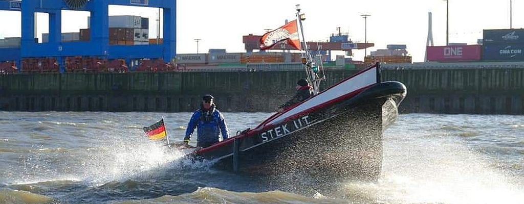 STEK UT auf der Elbe