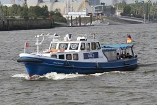 Leichtes Hafenstreifenboot ELBE 27